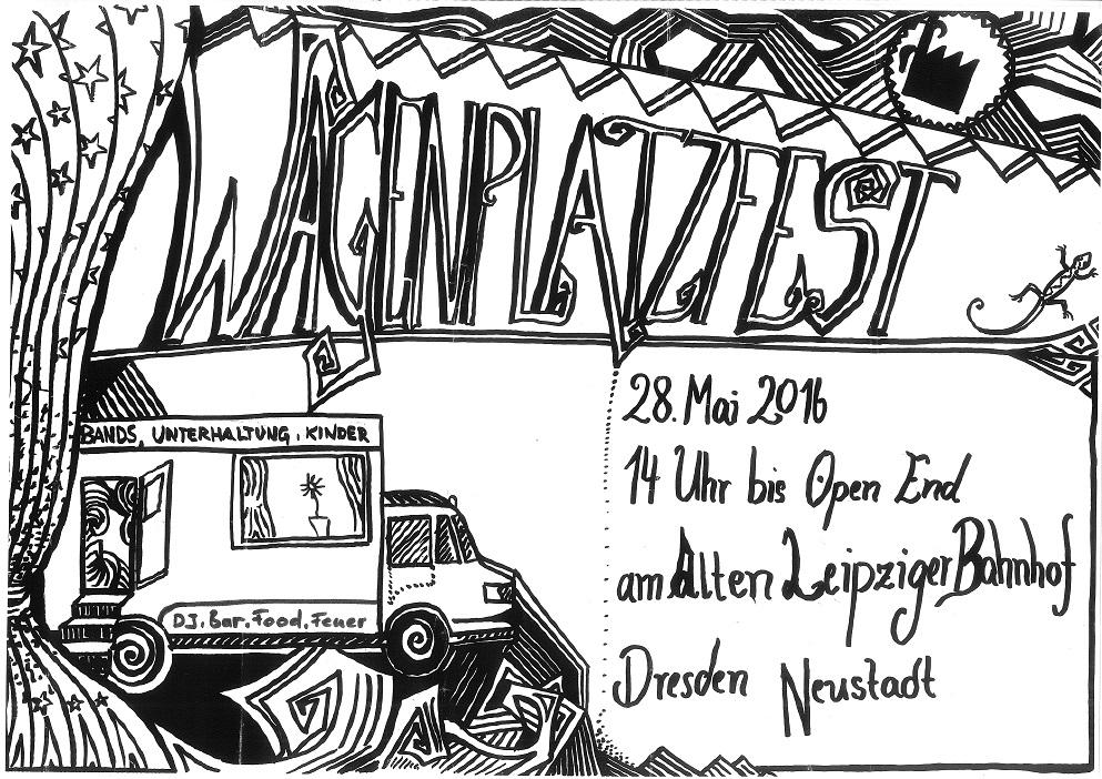 Wagenplatzfest, Mai 2016